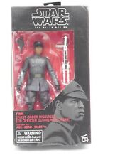 """Star Wars Hasbro The Black Series FINN First Order Disguise #51- 6"""" Action Fig"""