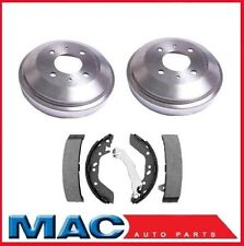 2000-2002 Accent (2) Rear Brake Drums and Shoes