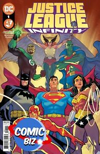 JUSTICE LEAGUE INFINITY #1 (2021) 1ST PRINTING BAGGED & BOARDED MANAPUL MAIN
