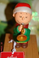 Hallmark 2012 Wireless Peanuts Band LINUS ON TRUMPET New With Tag Very Rare HTF