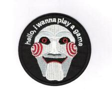 "Saw Movie Jigsaw Billy the Puppet 4.75"" Iron/Sew On Embroidered Patch"