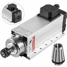 CNC 4KW Milling Spindle Motor air Cooled Engraver 0-300Hz ER20 Router 220V DE