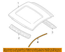 MITSUBISHI OEM 06-12 Eclipse Roof-Drip Molding Right MN142232