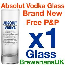 Single Absolut Tall Vodka Glass 31cl Brand New 100% Genuine