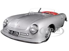 1948 PORSCHE 356 No. 1 CONVERTIBLE REVISED EDITION SILVER 1/18 BY AUTOART 78072