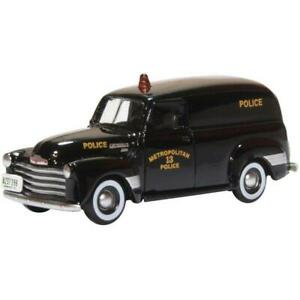 Oxford Chevrolet Panel Van 1950 Washington DC - 1:87