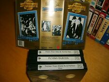 VHS *LAUREL & HARDY - GOLDEN YEARS Collectors Edition* Australia Issue - Box Set