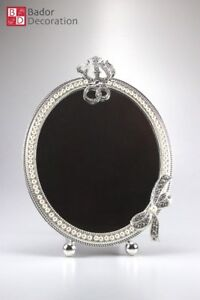 Standing Mirror Table Cosmetic Makeup Designer Decoration