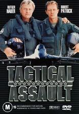 Rutger Hauer Robert Patrick TACTICAL ASSAULT - AIR FORCE WAR ACTION DVD