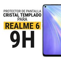 Sentete® Realme 6 Protector de Pantalla Cristal Templado PREMIUM