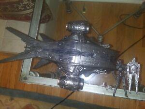 Terminator Salvation Hunter Killer T-700 Playmates Toys Black Edition/ T-RIP FIG