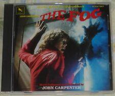 THE FOG (John Carpenter) rare original mint cd (1984) no bar code issue