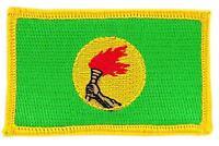 Patch écusson brodé Drapeau ZAIRE  FLAG Thermocollant Insigne Blason