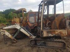 Terex Schaeff HR14 mini digger excavator dismantling for parts ! Dipper only!!