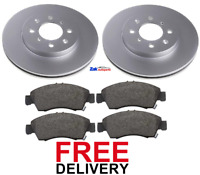 FOR HONDA JAZZ MK2 (2004-2008) 1.2 1.4 FRONT 2 BRAKE DISCS & PADS SET *NEW*