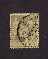 France stamp #84, used, 1877