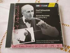 Anton Bruckner - Symphony No.5 - Carl Schuricht - Vol.VI - CD Neuwertig