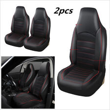 Synthetic Leather Front 2 Seat  Car Truck Covers Universal Seat Bucket Protector