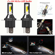 2* H4 Car LED Headlight 26000LM 6000K 110W Kit Conversion Bright Bulb Universal