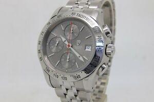 Tudor Chronautic Chronograph Automatic 41mm Steel Bracelet Watch Ref  79380 +Box