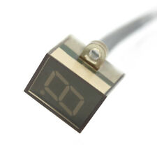 Universal LED Digital Gear Indicator Motorcycle Shift Lever Sensor 0-6 Gear Q6O3