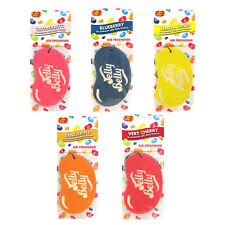 5 x Assorted 2D Jelly Belly Bean Sweets Scents Air Freshener Freshner Car Home