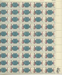 1966 5 cent Women's Clubs Full Sheet of 50 Scott #1316, Mint NH