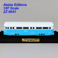 ATLAS 1/87 L'autorail Baudet-Donon-Roussel 1934 ZZ 60 A1 TRAIN MODEL Collection