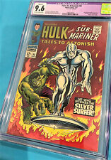 TALES TO ASTONISH #93 COMIC BOOK CGC 9.6 SILVER AGE CLASSIC COVER SILVER SURFER
