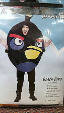 Angry Birds - Black Bird - One Size - Adult Costume - PMG