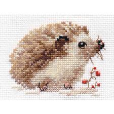 Counted Cross Stitch Kit ALISA - Hedgehog
