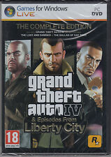 Grand Theft Auto IV Complete PC with Episodes from Liberty City GTA 4