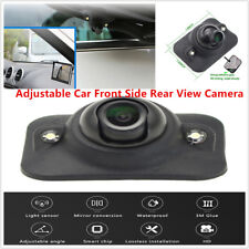 12V Adjustable Car SUV Front Side Rear View Camera Light LED Universal Vehicles