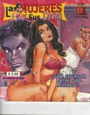 LAS MUJERES Y SUS COSAS mexican comic SEXY GIRLS, SPICY #3
