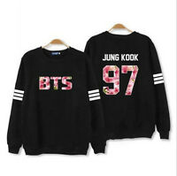 Kpop BTS Sweatershirt Bangtan Boys In Bloom Sweater ARMY.ZIP+ Hoodie Pullover V