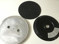 Lot of 3 Pioneer PL-630 Stereo Turntable Parting Out Platter, Mat and base plate
