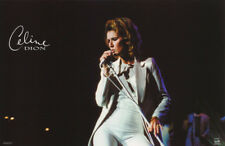 Lot Of 2 Posters: Music : Celine Dion In Concert Free Ship #9015 Rc45 E