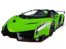 LAMBORGHINI VENENO ROADSTER GREEN WITH RED LINE 1/18 DIECAST KYOSHO 09502 GRR