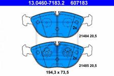 Bremsbelagsatz, Scheibenbremse für Bremsanlage Vorderachse ATE 13.0460-7183.2