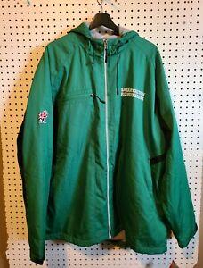 BNWT Reebok Saskatchewan Roughriders CFL Officially Licensed Jacket