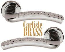 CARLISLE Brass serozzetta VOGUE Round Rose Fire Maniglie in cromo lucido
