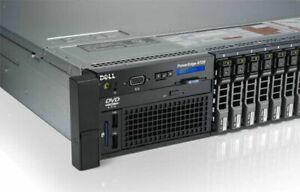 Dell PowerEdge R720 Xeon E5-2670 3.30GHz Turbo 128GB DDR3 960GB SSD 4x600Gb 10K