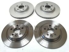 VOLVO V60 2010-2015 FRONT & REAR BRAKE DISCS SET NEW NO PADS (READ DESCRIPTION)