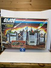 Vintage 1983 GI Joe Headquarters Command Center BOX ONLY -  Empty Toy BOX ONLY