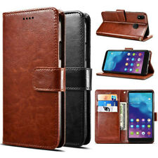 For ZTE Visible R2 Retro PU Leather Wallet Case Magnet closure Soft cover