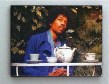 Rare Framed Last Ever Jimi Hendrix Photo. Jumbo 8.5 X 11 Giclée Print