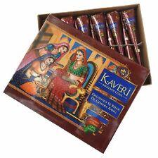Kaveri Natural Herbal Henna Mehandi Cones Temporary Tattoo Free Mehandi Book