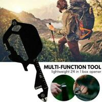 Multi-tool Key Pocket Tool More Than 13 Tool Functionsprovide Multiple Uses V9L7