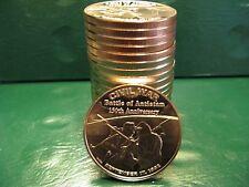 "20 ""Battle of Antietam"" 1oz .999 Copper Rounds in a plastic tube Civil War Serie"