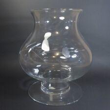 "Princess House HERITAGE  9 3/4"" Pillar Candle Lamp Holder Crystal Glass 390 USA"